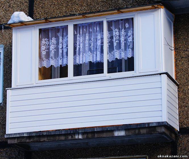 остекление балкона пластиковыми окнами