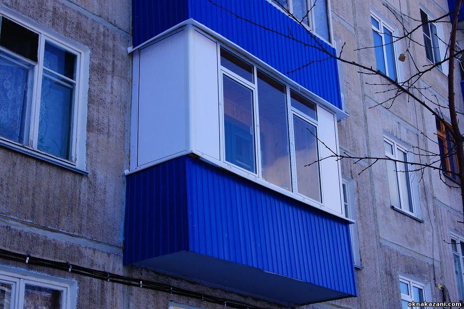 Фотографии балконов.