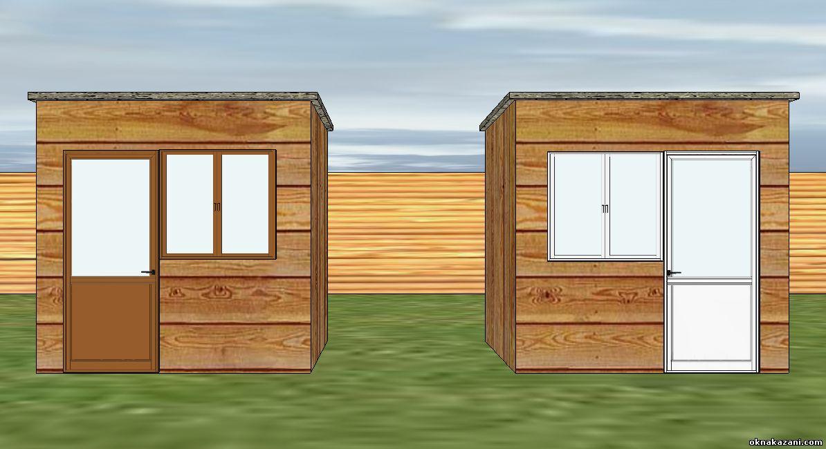 Окна ПВХ или деревянные окна