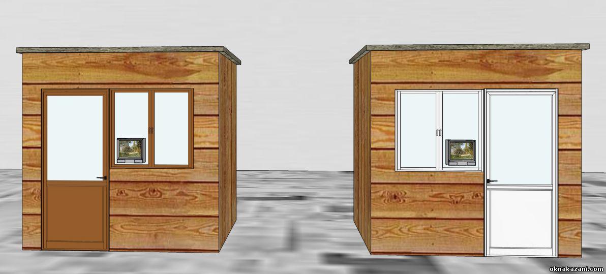 Пластиковые окна или деревянные окна. Второй эксперимент